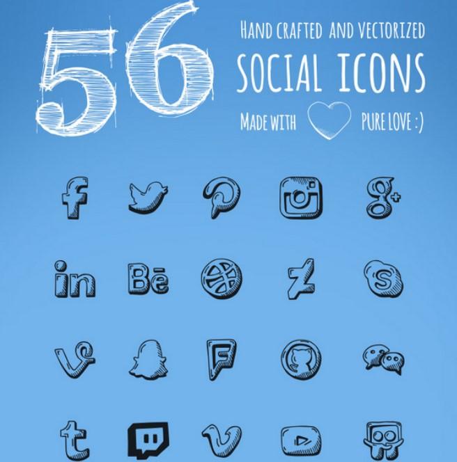 free social media icon