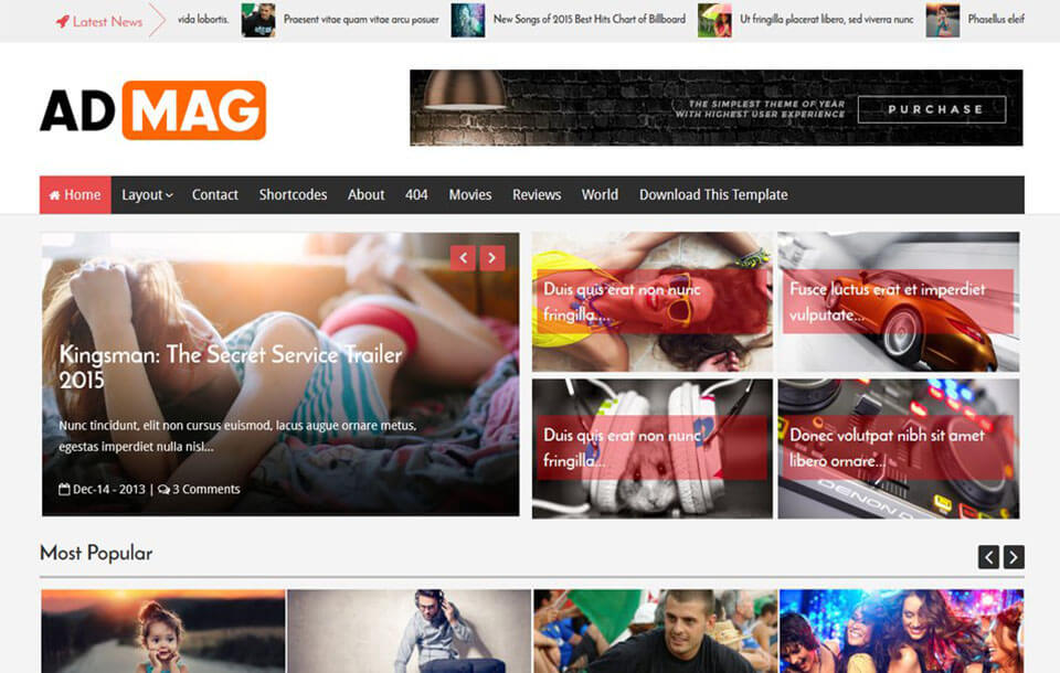 Ad Mag Responsive Blogger