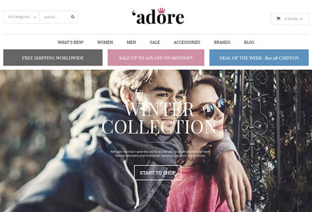 Adore Fashion Theme