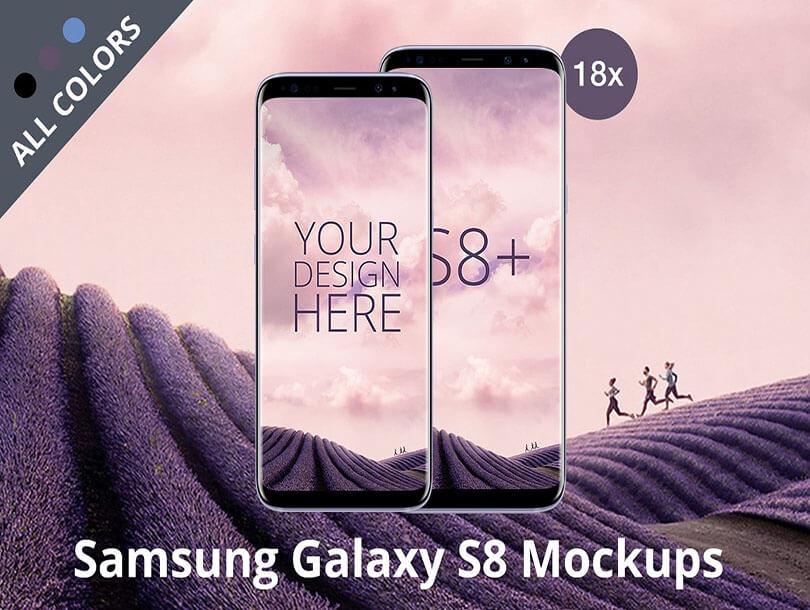 Android Mockup Samsung Galaxy