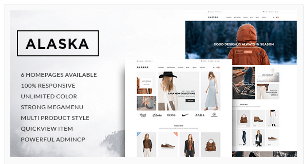 Ap Alaska Responsive Shopify