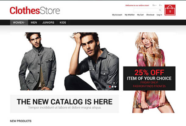 Apparel Best Responsive