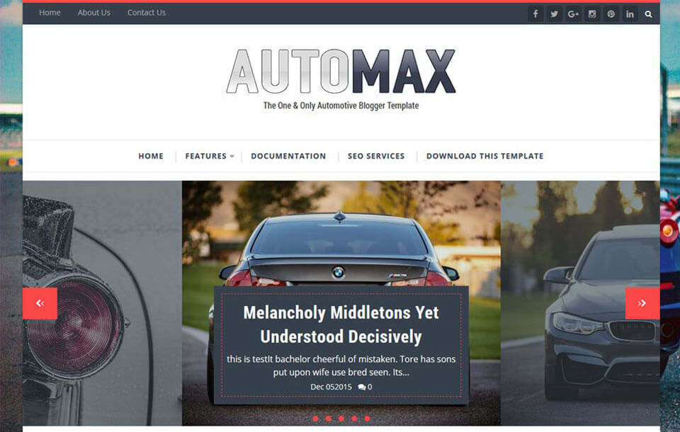 Automax Best Free Responsive