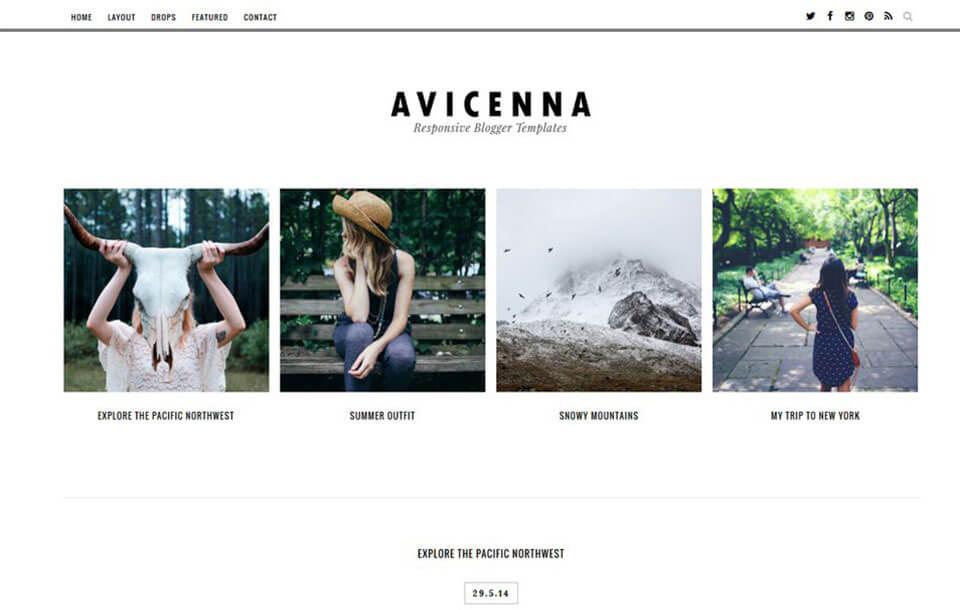 Avicenna Best Free Responsive Blogger