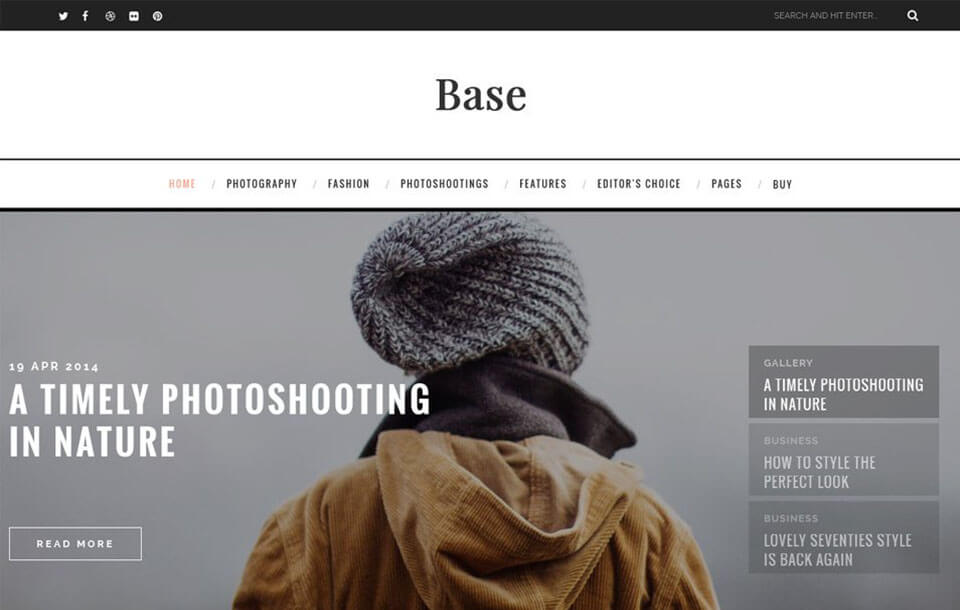 Base Best Free Responsive Blogger