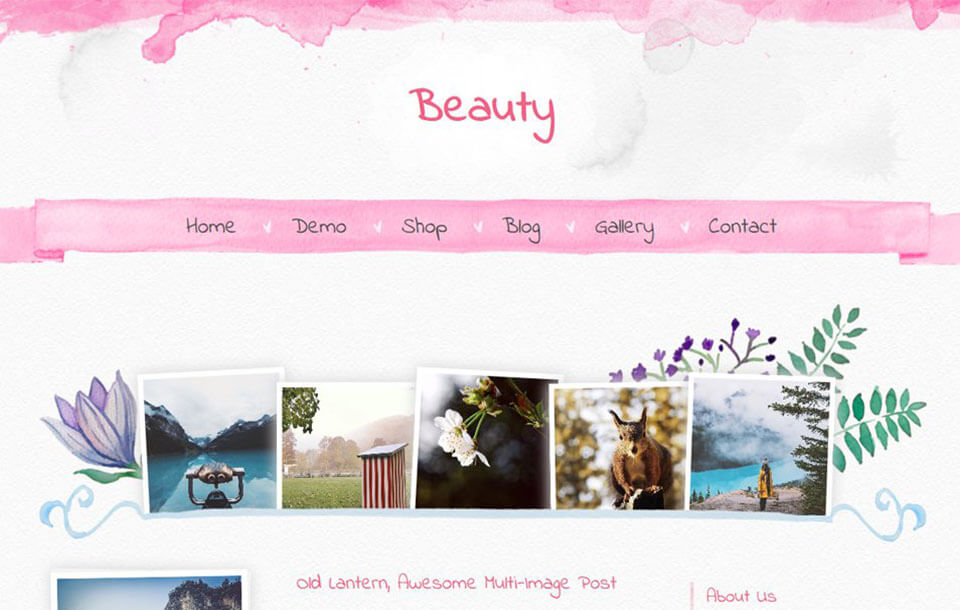 Beauty Best Free Responsive