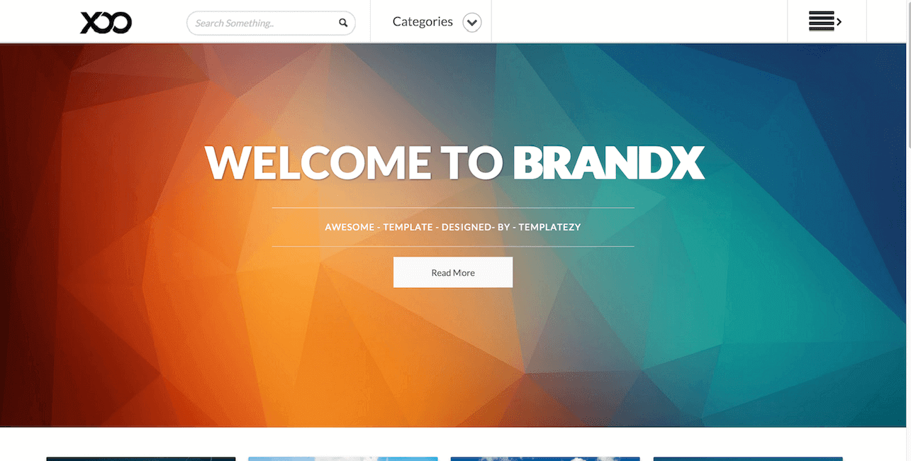 BrandX Free Responsive