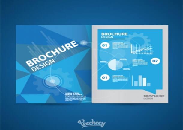 Brochure Blue Best Advertising