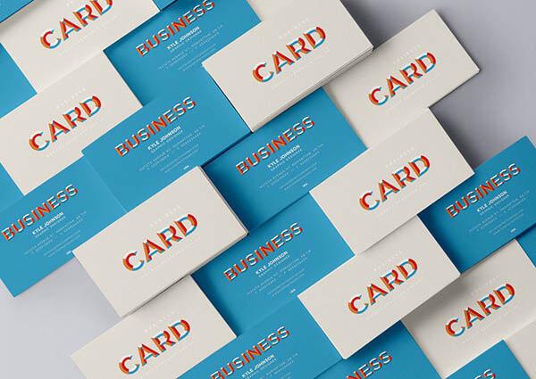 Business Card Mock Up PSD2