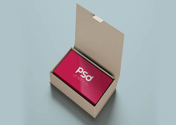 Business Card Mockup PSD 4