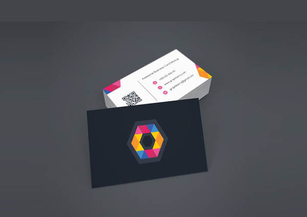 Business Card Mockup PSD4