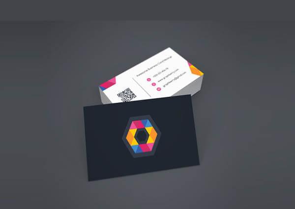 Business Card Mockup PSD4