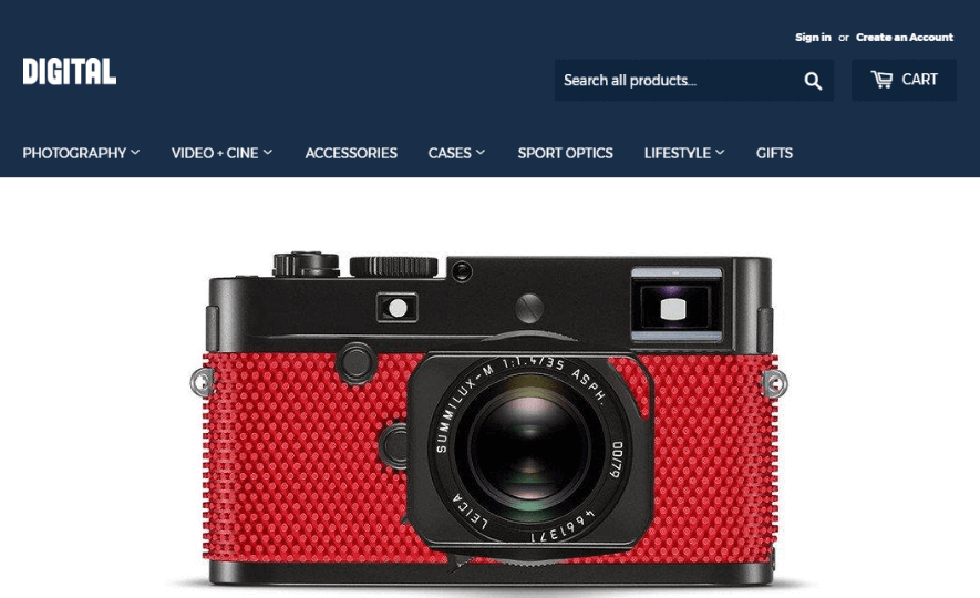 Camera Online Store
