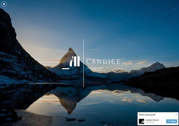 Candice Responsive Tumblr