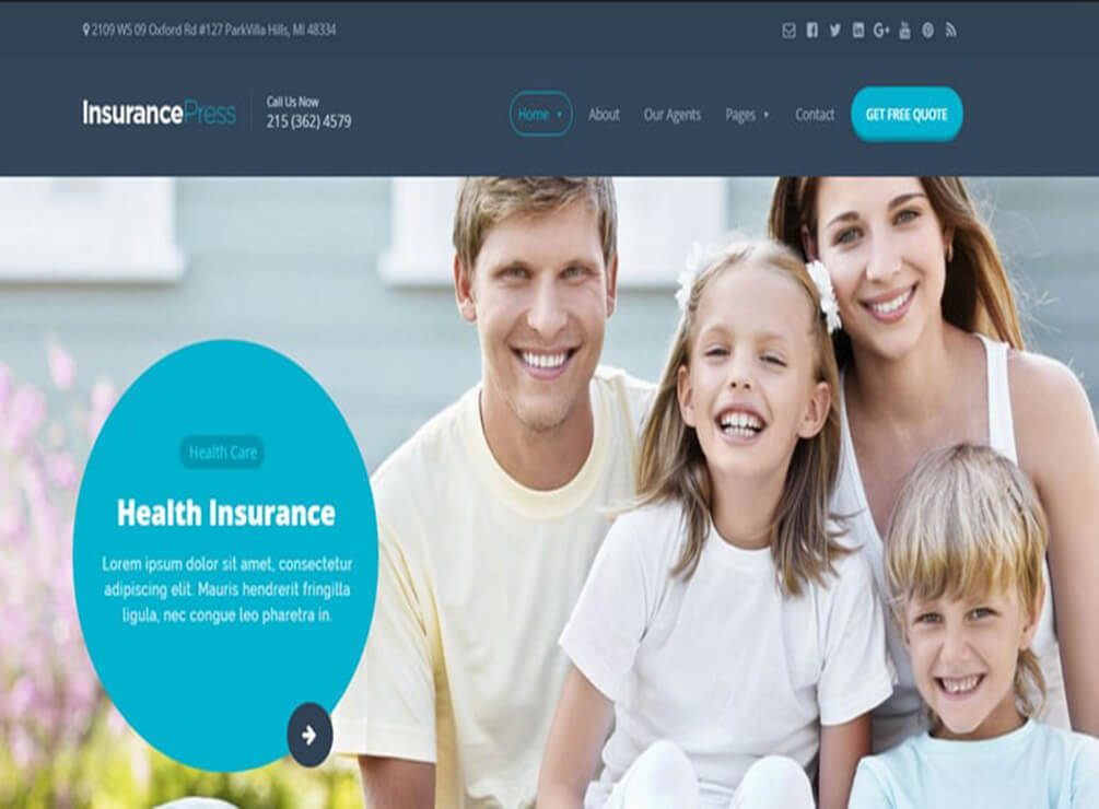 Close Insurance WordPress
