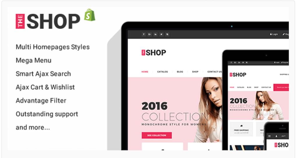 Clothing Shopify Theme