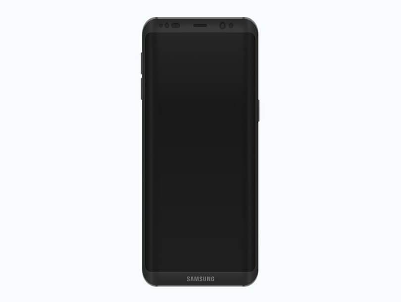 Concept Mockup Galaxy S8