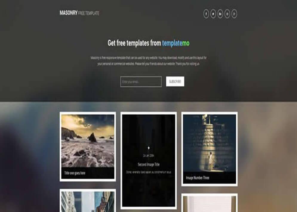 Designs CSS3 Website 1