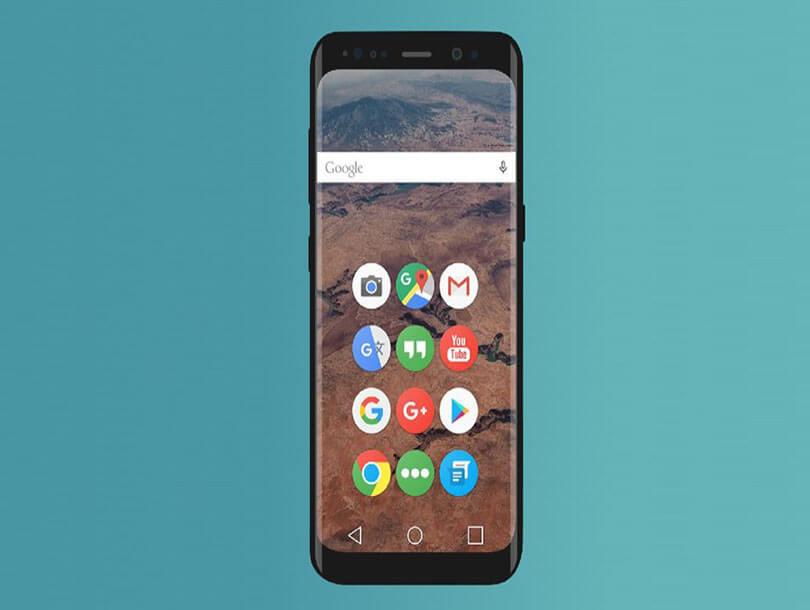 Device Mockup Galaxy S8
