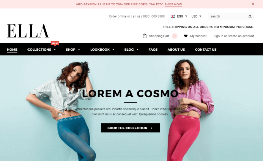 Eallla Online Store