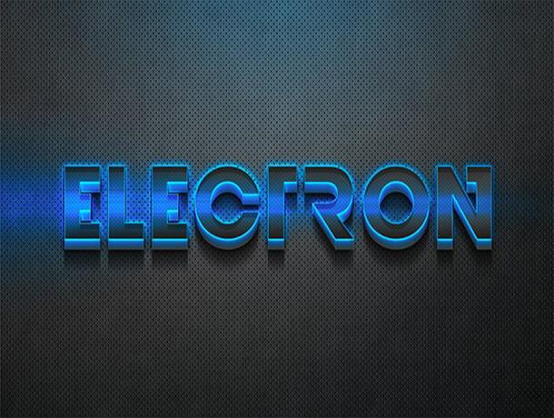 Electron Photoshop Text Style