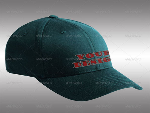 Embroidered Best Free Cap PSD