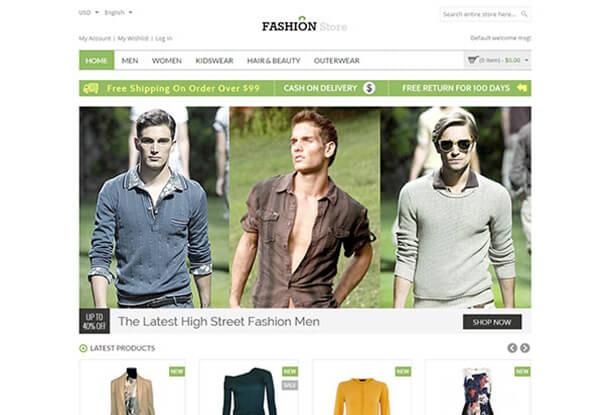 Fashion Store Magento Fashion