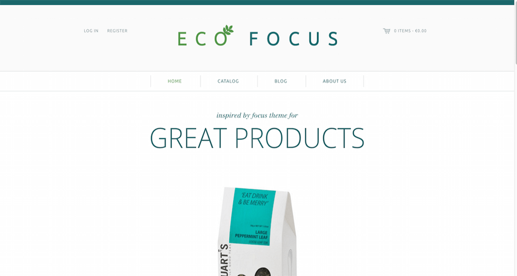 Focus Shopify Theme