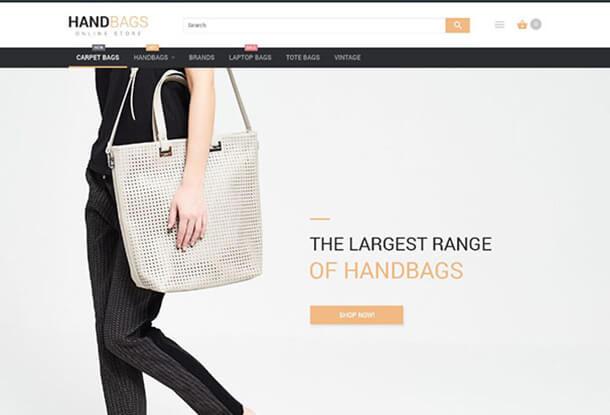 Handbags Responsive Magento