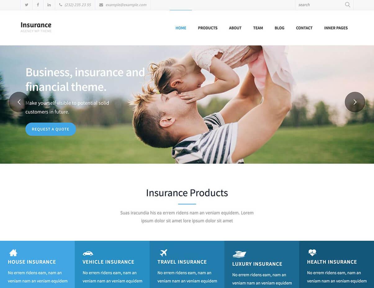 Insurance Agency Responsive Insurance