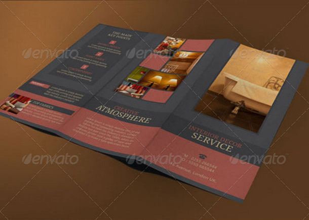 Interior Decor Best Advertising Brochure