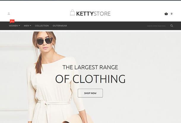 Ketty Store Responsive Magento