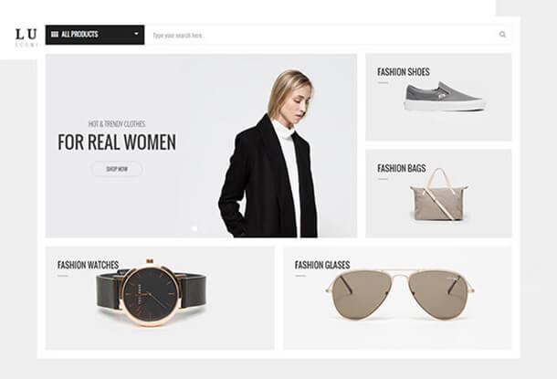 Luxury Fashion Theme