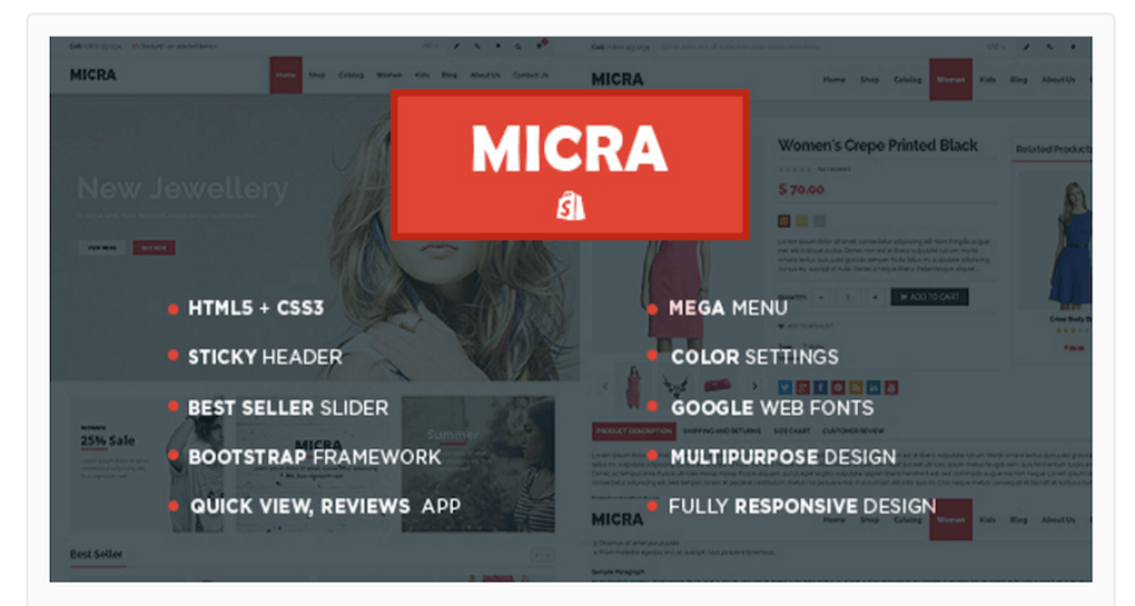 Micra Theme For Your Online