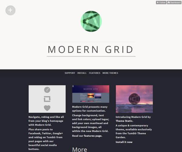 Modern Grid Best Free Responsive