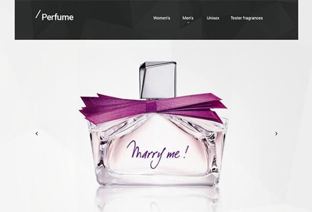 Perfume Responsive Magento
