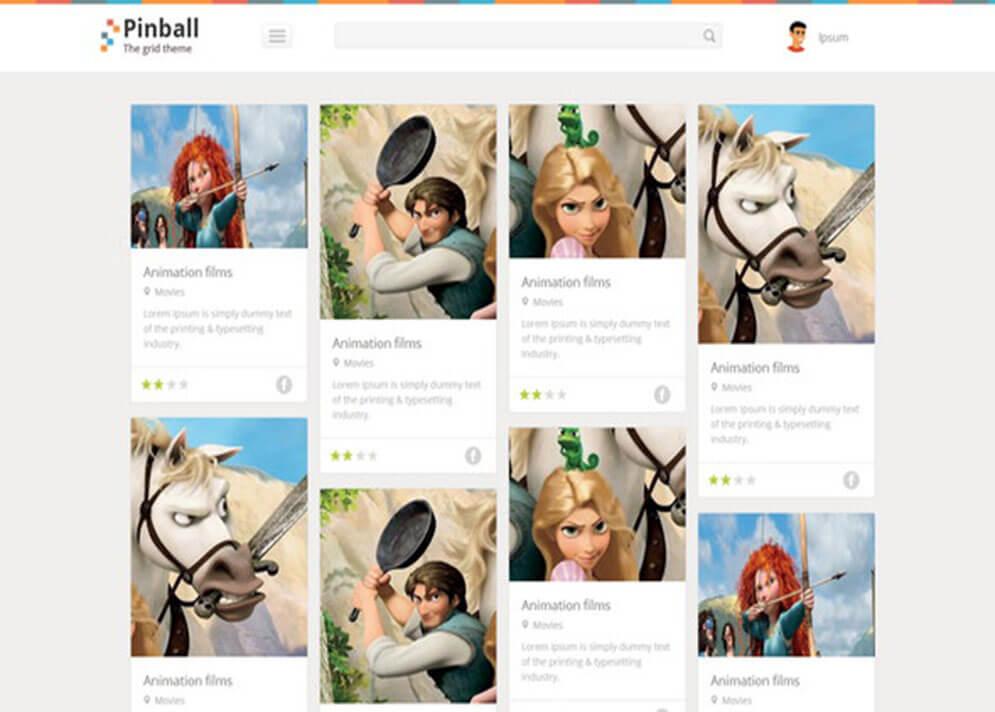 Pinball Best Responsive HTML5