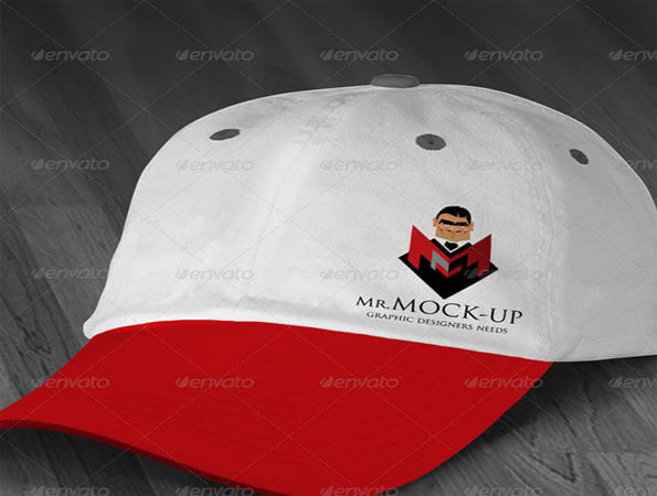 Polo T Shirt Best Free Cap PSD