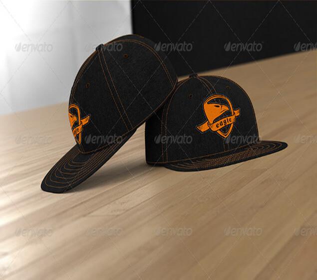 Professional Hat Cap PSD Mockup
