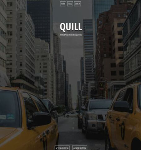Quill Responsive One Page