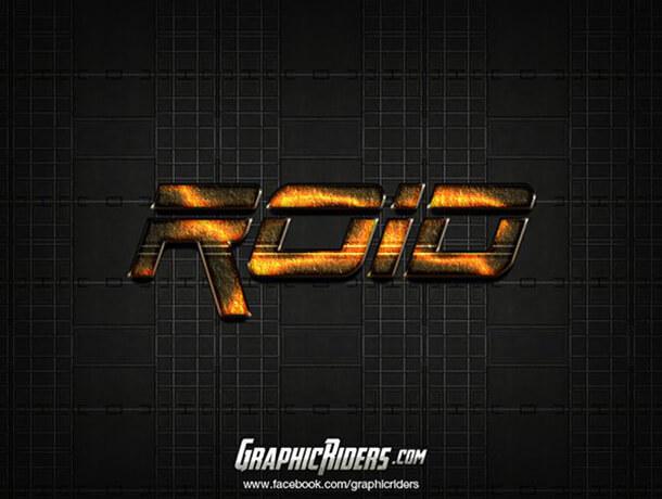 ROid Text Style