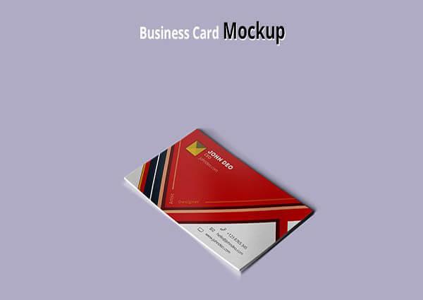 Shade Card Mockup