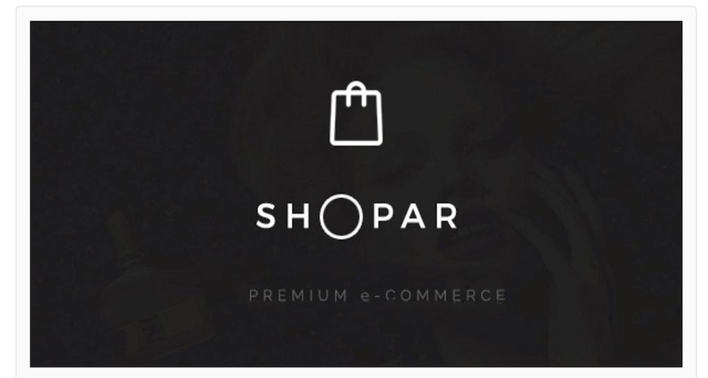 Shopar Theme For Your Online