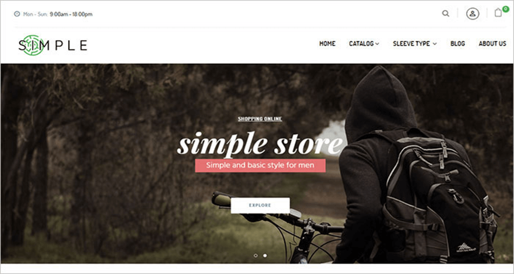 Simple Responsive Shopify
