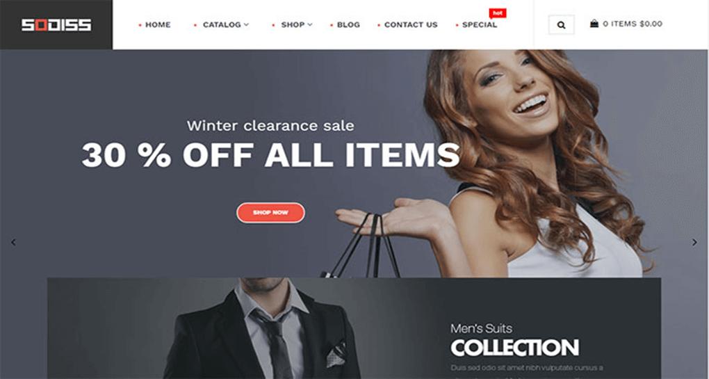 Sodiss Responsive Shopify