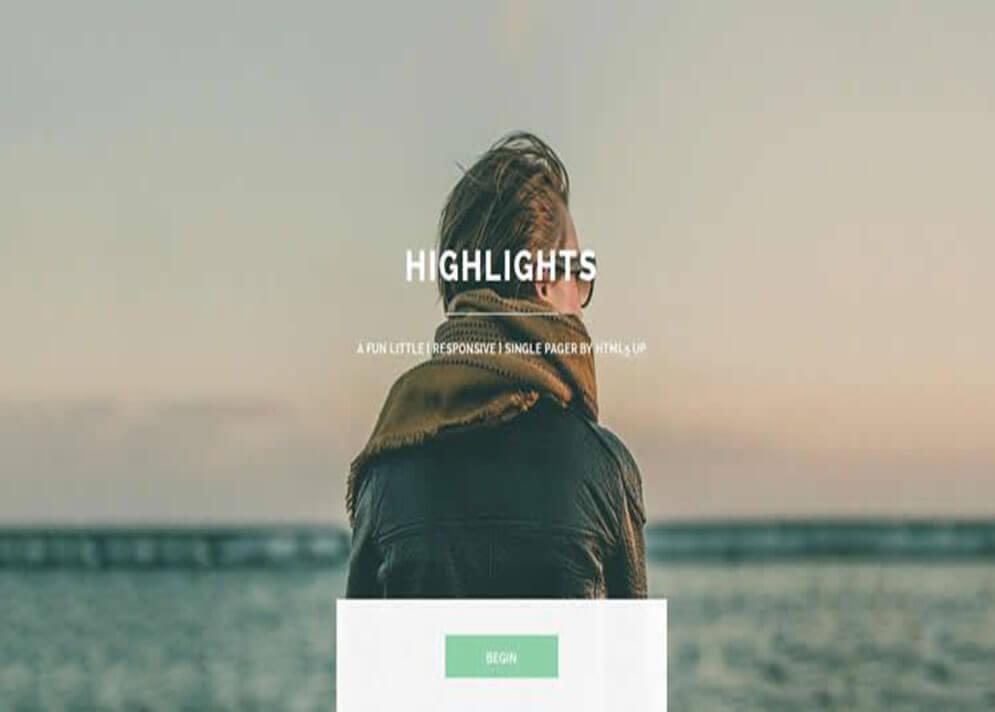 Solo CSS3 Website