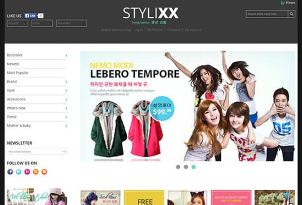 Stylixx Magento Fashion