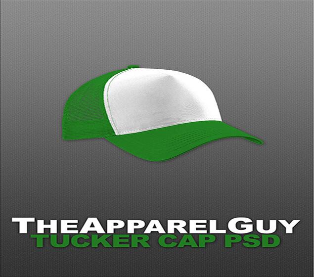 The Apparel Cap PSD Mockup
