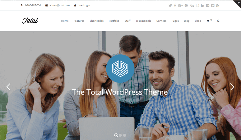 Total Best Responsive Insurance WordPress
