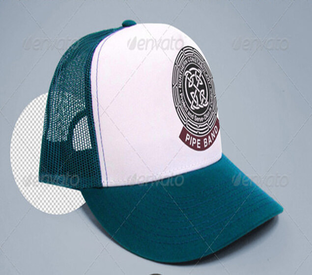 Trucker Cap Photorealistic Mockup Download